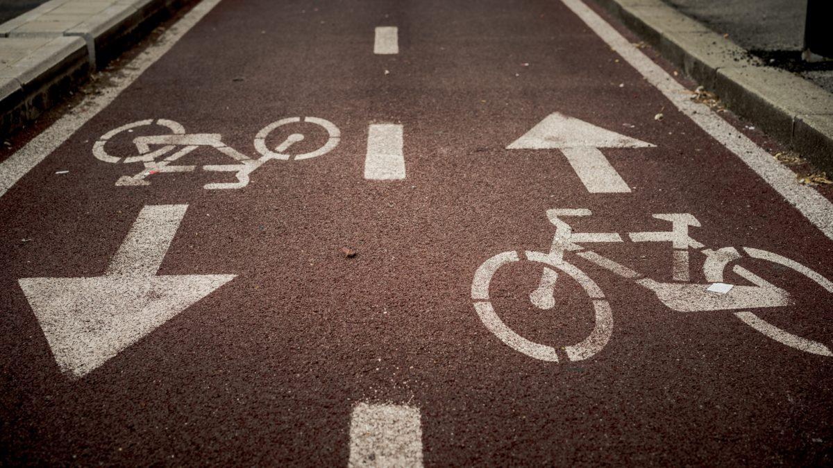 Fahrradwege aus Plastik